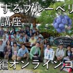 【完成目前】入門編オンラインコース ~成幸するブルーベリー農園講座~
